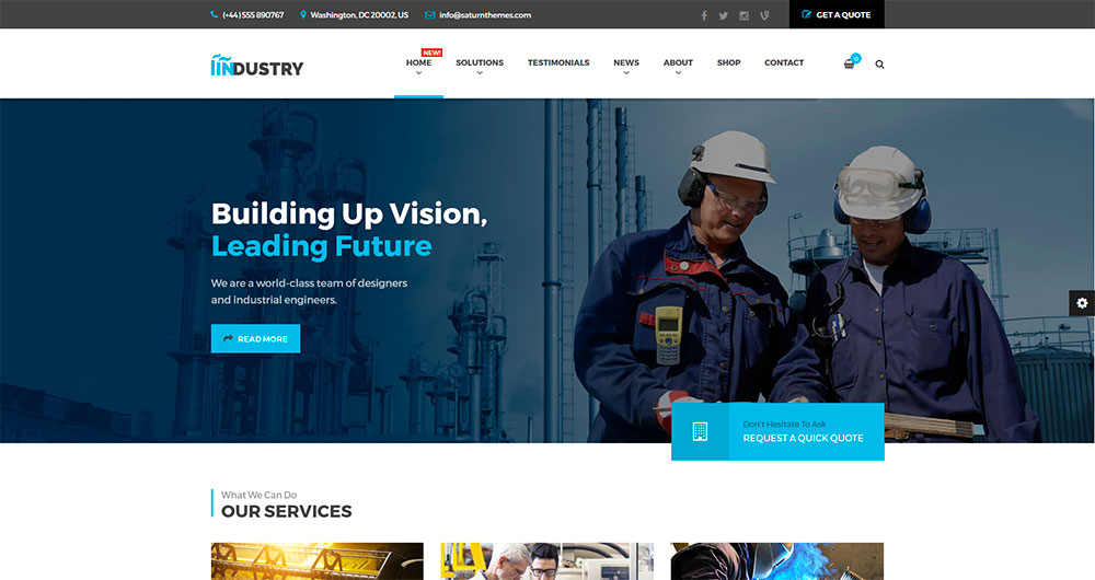 Industry---Business,-Factory,-Construction,-Transport-&-Finance-WordPress-Theme