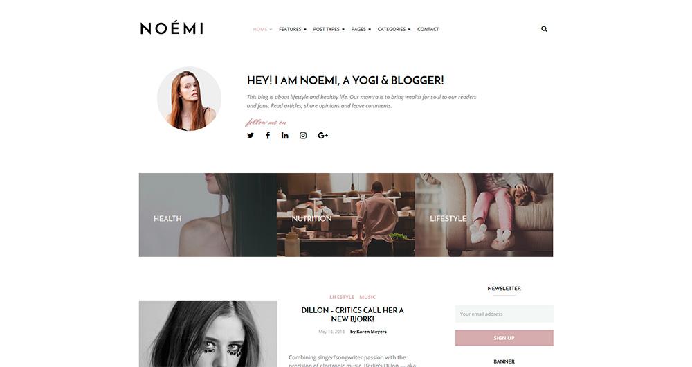 Noemi---WordPress-Blog-Theme