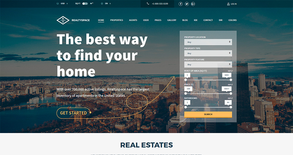 Realtyspace---Real-estate-WordPress-Theme