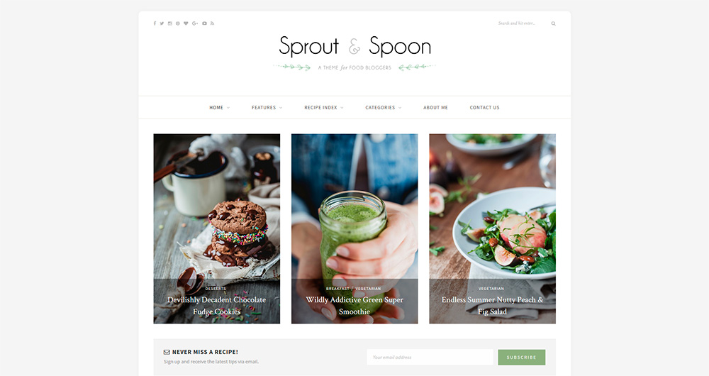 Sprout-&-Spoon---A-WordPress-Theme-for-Food-Bloggers
