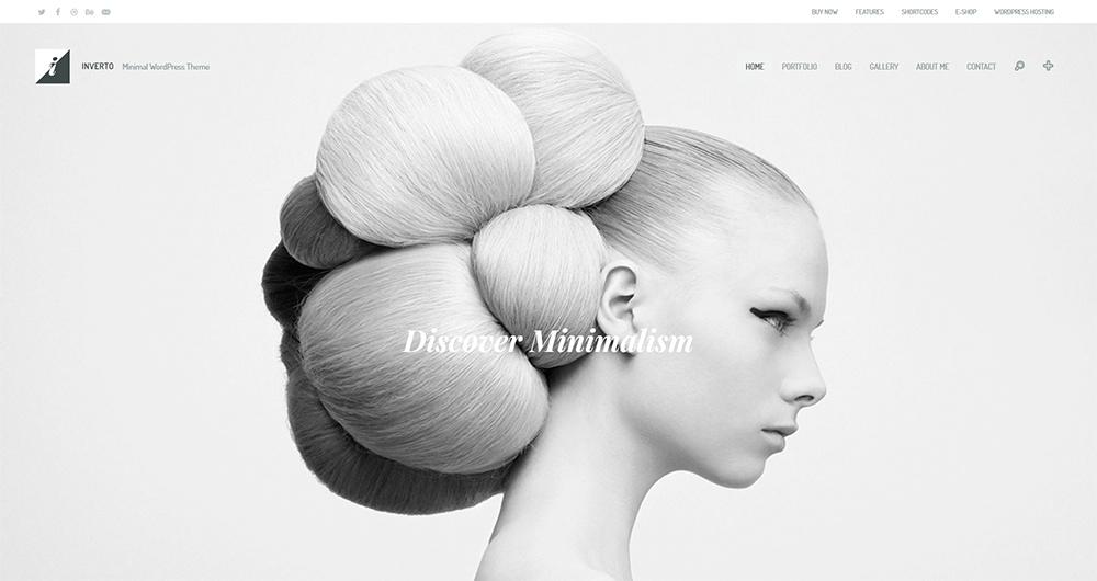 Inverto WP - Minimal WordPress Theme