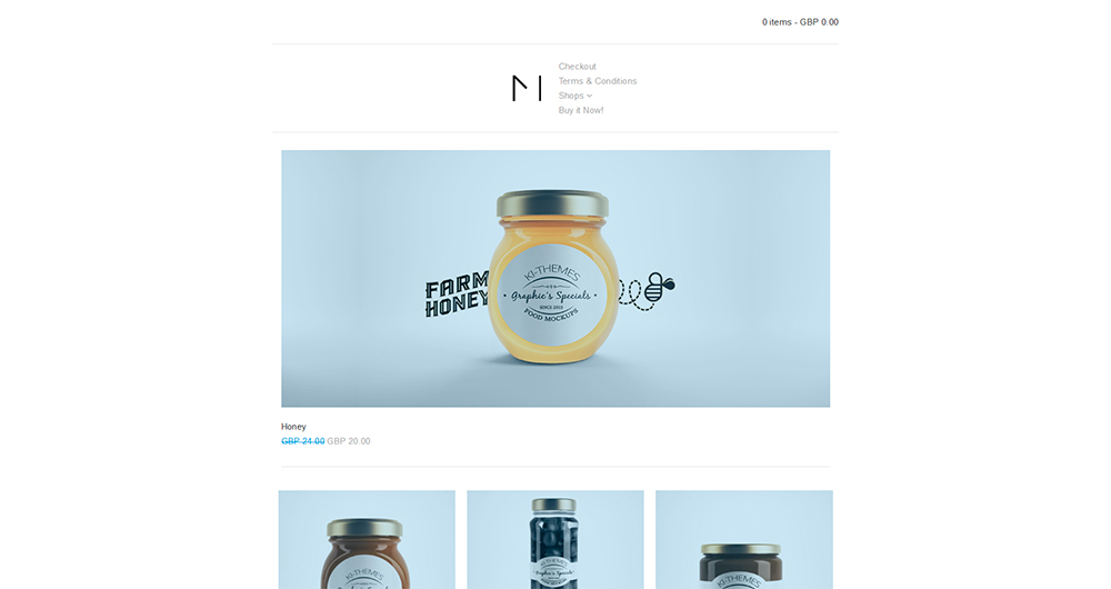 MiniShop - Multipurpose, Minimal, e-Commerce, Marketplace WordPress Theme