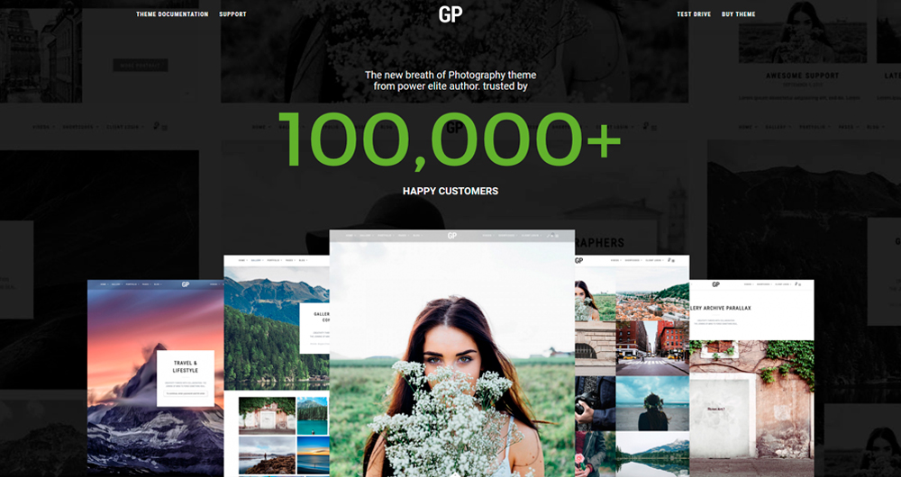 Grand Photography - Photography WordPress